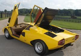 0 60 Mph Lamborghini Countach Lp400 1974 Seconds Mph And Kph