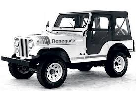 Jeep CJ-5 Renegade 4.2L