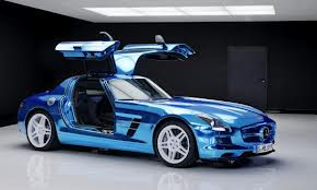 Mercedes SLS Electric Drive AMG