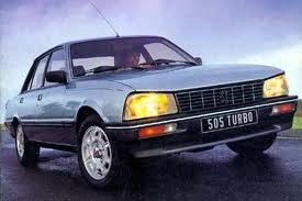 PEUGEOT 505 - 1979, 1980, 1981, 1982, 1983, 1984, 1985, 1986, 1987 ...