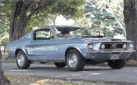 Ford Mustang 428 Cobra Jet 7 0 V8 - [1968] Performance