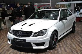Mercedes C Class 63 AMG Edition 507