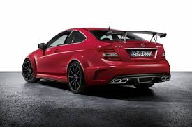 Mercedes C Class 63 AMG Coupe Black Series