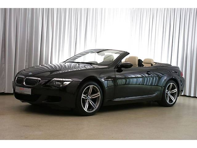 BMW 6 Series M6 Convertible 2d SMG E64