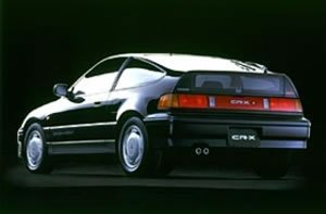 0-60 mph Honda Civic CRX 1.6i VTEC - [1990] | seconds, mph ...