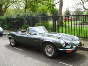 Jaguar E Type 5.3 V12