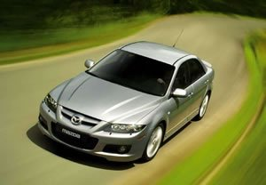 0 to 100 kph kmh time Mazda 6 MPS 23T  2007 specifications