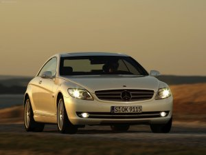 Mercedes CL Class 600 Coupe Bi Turbo