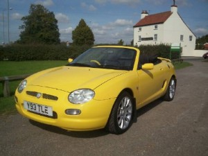MG F 1.8i VVC 160ps Trophy - [2001] image