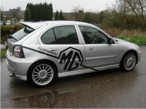 mg zr vvc 160 2001 review 0 60mph times top speed. Black Bedroom Furniture Sets. Home Design Ideas