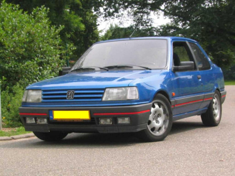 peugeot 309 1 9 gti 8v 1986 performance figures specs and technical information 0 60 mph. Black Bedroom Furniture Sets. Home Design Ideas
