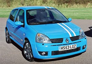 Renault Clio 2.0 16V 182 Cup