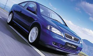 Vauxhall-Opel Astra Coupe Turbo - [2000] image