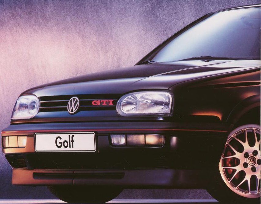 Volkswagen-VW Golf 2.0 GTi 16V