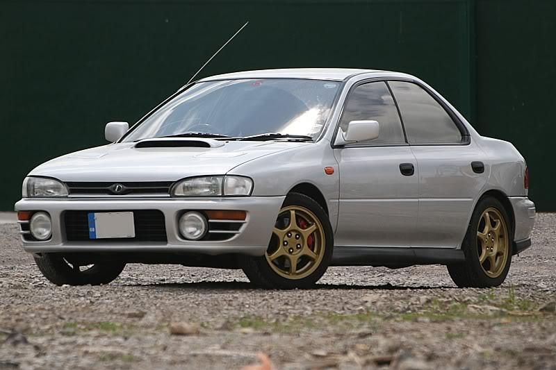 Subaru Impreza Wrx Classic Jdm 1992 Performance