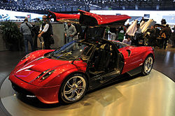 Pagani Huayra 6.0 V12 Twin Turbo - [2011] image