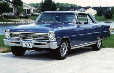 Chevrolet Chevy II Nova SS 327 V8 Turbo Fire 350hp