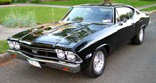 Chevrolet Chevelle-Malibu SS 396 Sport Coupe 350hp 4speed 1st Gen