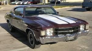Chevrolet Chevelle-Malibu SS 350 Coupe 2nd Gen