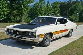 Ford Torino 2nd Gen GT 429 4V Cobra Jet V-8 4-speed