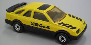 Ford Sierra XR4i Matchbox Car